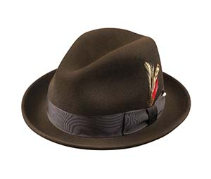 Broner Hats - Melodrama Dark Brown dd0449097ee2