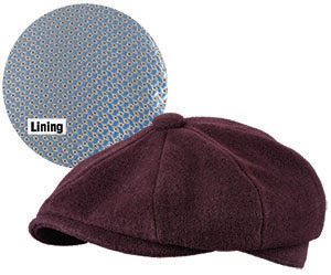 cd78f4446c7 Broner Hats - O Malley Burgundy